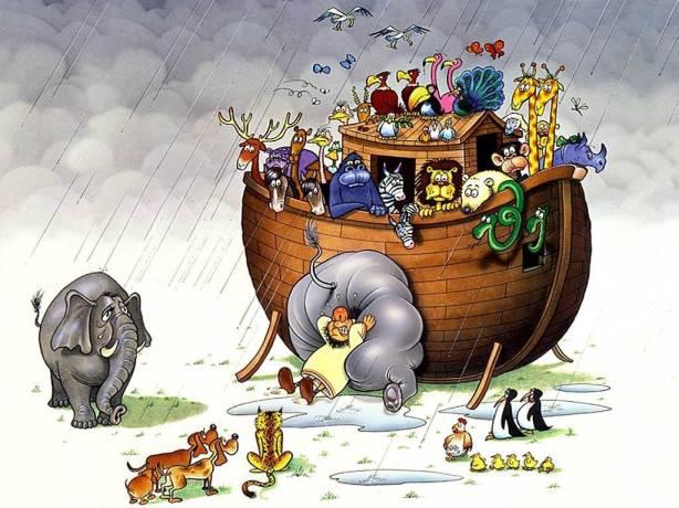 ¿Cuántos millones de especies caben en el Arca de Noé?