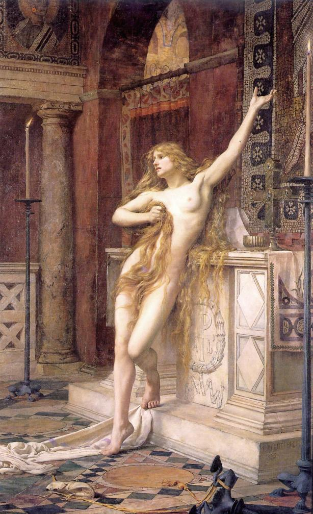 Hipatia por Charles William Mitchell