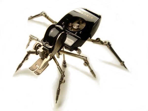 ¿nanobots con forma de insectos utilizados militarmente?