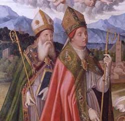 San Anselmo y San Agustin