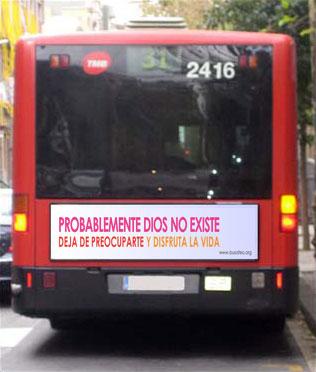¿Llegará el bus ateo a todas las ciudades españolas?