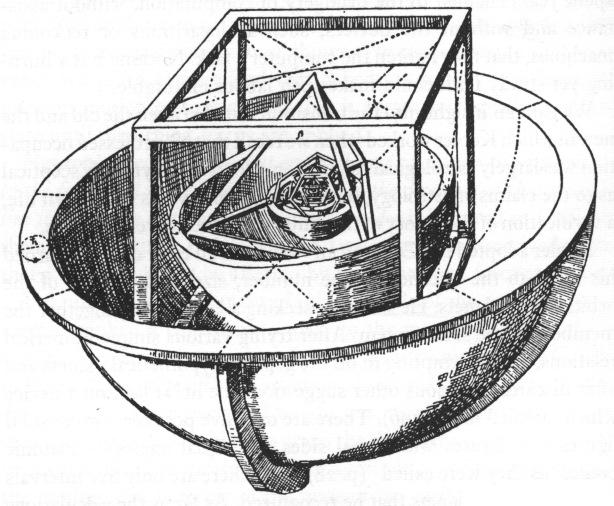 El universo según el joven Kepler