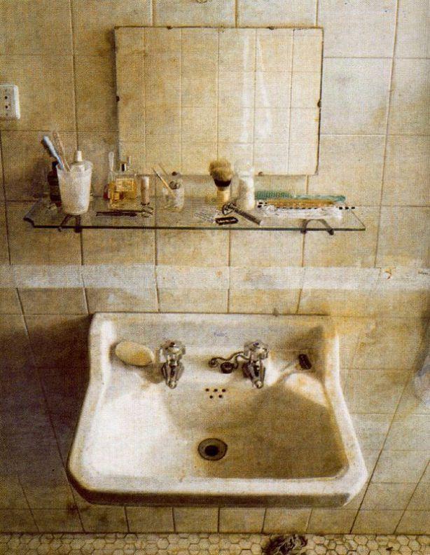 El lavabo de Antonio López