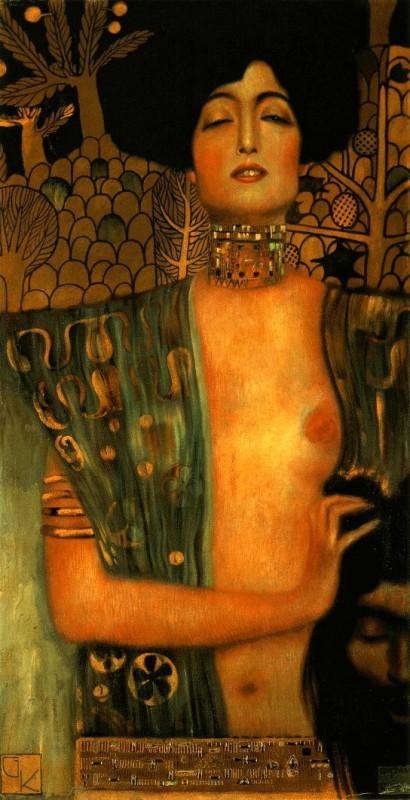Gustav Klimt pintó su Judith en 1901