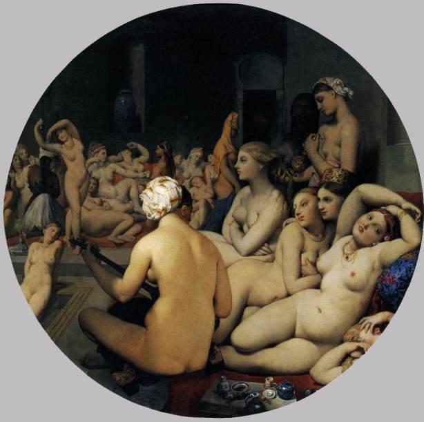 El baño turco de Ingrés (1862)