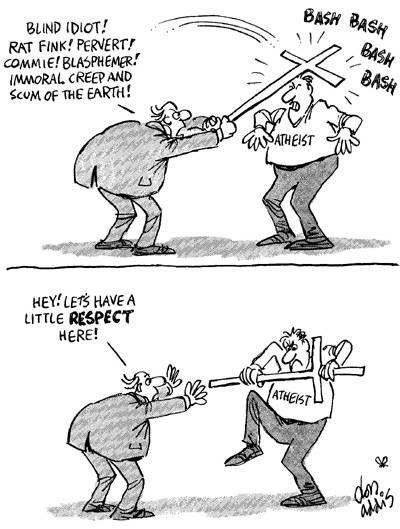 Un poquito de respeto...