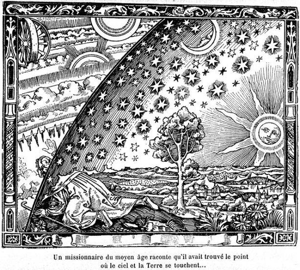 ¿Qué hay después de la esfera de las estrellas fijas?