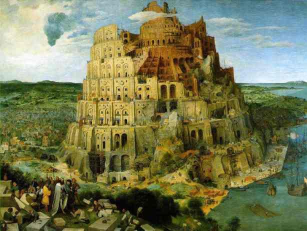 Torre de Babel de Pieter Brueghel
